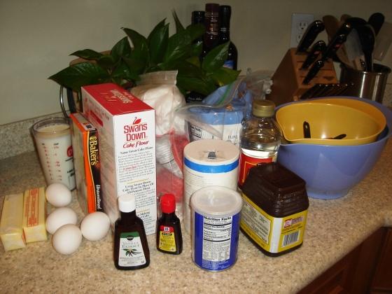 B/W Ingredients